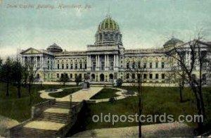 Harrisburg, PA, Pennsylvania, USA United States State Capital Building Writin...