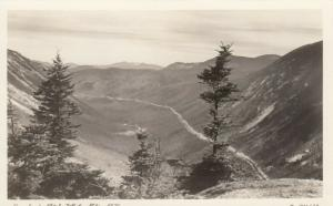 RP; WHITE MOUNTAINS,  New Hampshire, 1934 ; Crawford Notch