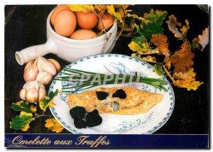 Postcard Modern Omelette with truffles