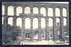 Ancient Aqueduct Segovia Spain unused c1920's