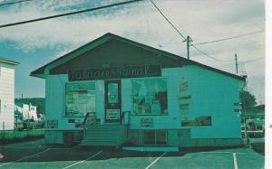 Storefront , Tabagie Au Fanal, Sacre-Coeur, Saguenay Quebec  , Canada , 50-70s
