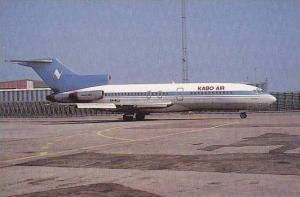 KABO AIR NIGERIA BOEING 727-155C