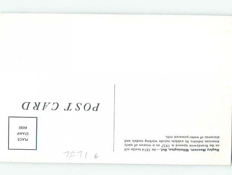 Pre-1980 MUSEUM SCENE Wilmington Delaware DE AG1382