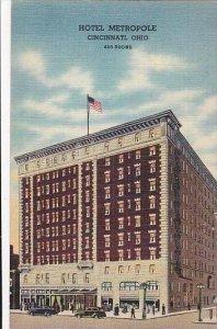 Ohio Cincinnati Hotel Metropole