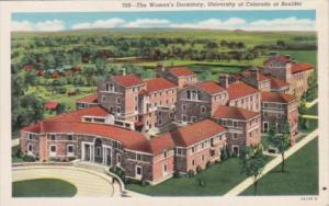 Colorado Boulder The Women's Dormitory University Of Colorado 1955