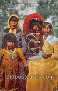 Reno, NV, USA Postcard Post Card Group of Piute Indian Women