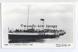 pp1879 - P.S. Golden Eagle c1935  - Pamlin postcard