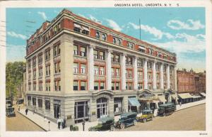 Oneonta Hotel, Oneonta, New York, PU-1932