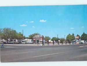 Pre-1980 TRAILER PARK Deming - Near Las Cruces New Mexico NM c3371