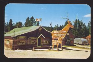 HIDEAWAY PASS COLORADO GENERAL STORE PAWN MOTEL PARK OLD POSTCARD