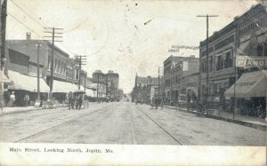 USA Main Street Looking North Joplin Missouri 03.75
