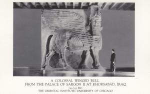 RP: Winged Bull , KHORSABAD , IRAQ, 20-40s