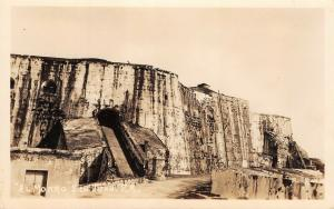 EL Morro Puerto Rico RPPC c1930s AZO