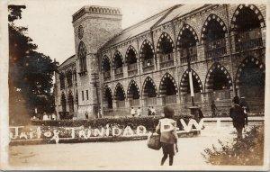Jail of Trinidad BWI West Indies Unused Real Photo Postcard F19