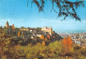 Spain Granada, Alhambra desde el Generalife