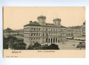 155650 AUSTRIA WIEN Franz Josefsbahnhof Vintage postcard