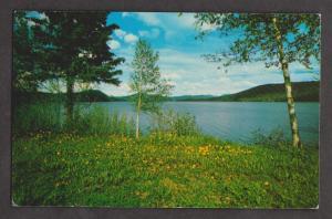 Beautiful Cariboo Lake, British Columbia - 1960s Used