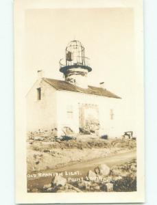 Pre-1918 rppc NICE VIEW Point Loma - Near San Diego California CA i9366