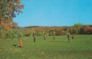 Golfing in the Fall, Larrimac Golf Club, GATINEAU VALLEY, Quebec, Canada, 40-...