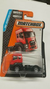 Matchbox Toy Car #3 13 Ford Cargo
