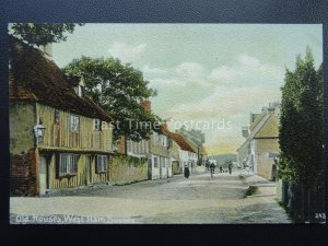 East Sussex WESTHAM High Street Old Houses - Old Postcard