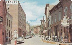 West on Eureka Street, CENTRAL CITY , Colorado, 50-60s