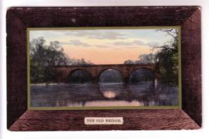 Art in Faux Frame, The Old Bridge, Printed in Germany, Hillsborough New Bruns...