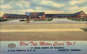 Blue Top Motor Court No. 1 - Marietta, Georgia GA