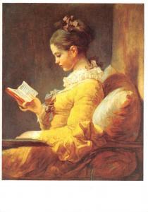 Fragonard - Jeune fille Lisant, A Young Girl Reading