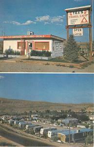 Tex's Travel Camp near Green River Wyoming Chrome