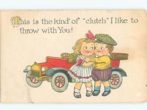 Divided-Back CHILDREN SCENE Great Postcard AA5500