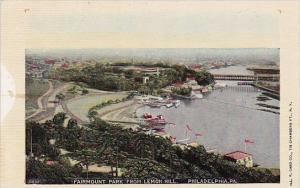 Pennsylvania Philadelphia Fairmount Park From Lemon Hill