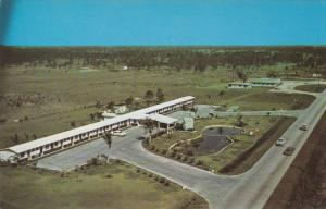 Aerial View of Huckman´s Motel, Florida, 40-60s