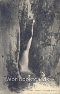 Finhaut Cascade du Bouqui Swizerland Unused