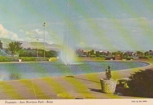 Idaho Boise Fountain In Ann Morrison Park