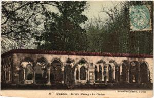 CPA TARBES Jardin Massey-Le Cloitre (412311)