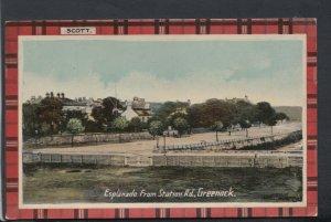 Scotland Postcard - Esplanade From Station Road, Greenock  RS19122