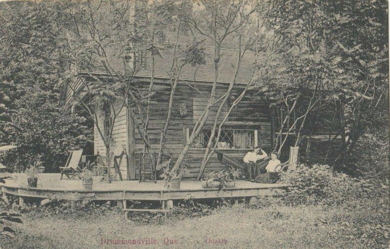 DRUMMONDVILLE, Quebec, Canada, 1900-10s ; Cabin