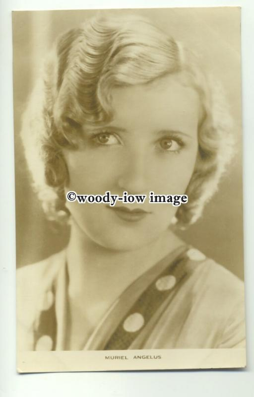 b3267 - Film Actress - Muriel Angelus - postcard by Film Weekly