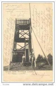 Gruss vom HOCheck, Austria, PU 1900, View Tower