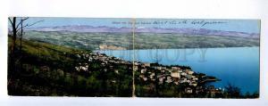 192731 Croatia Opatija ABBAZIA Vintage panoramic postcard