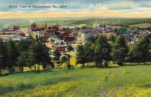 Pennsylvania Shenandoah Aerial View