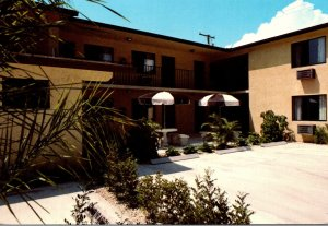 Florida Lake Worth Seven Palms Motel 1984