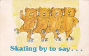 Roller Skating Bears Skating By To Say Eastern Cantata Demorest Georgia 1986