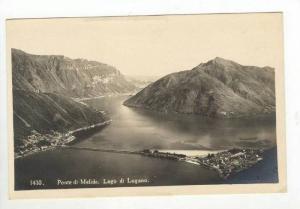 RP, Ponte Di Melide, Lago di Lugano (Ticino), Switzerland, 1920-1940s