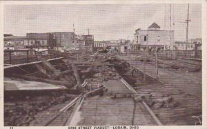Ohio Lorain Erie Street Viaduct Tornado 1924