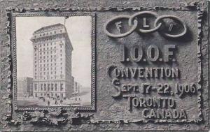 Trader's Bank, FLT I.O.O.F Convention Sept. 17-22, 1906, Toronto, Ontario, Ca...