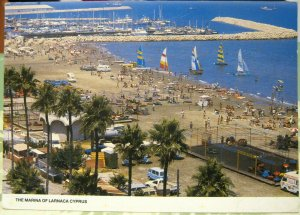 Cyprus The Marina of Larnaca - posted 1991