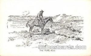 Artist Charles Russell, Postcard Post Card  Artist Charles Russell, Postcard ...