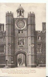 Middlesex Postcard - Hampton Court Palace - Clock Tower - Ref TZ4687